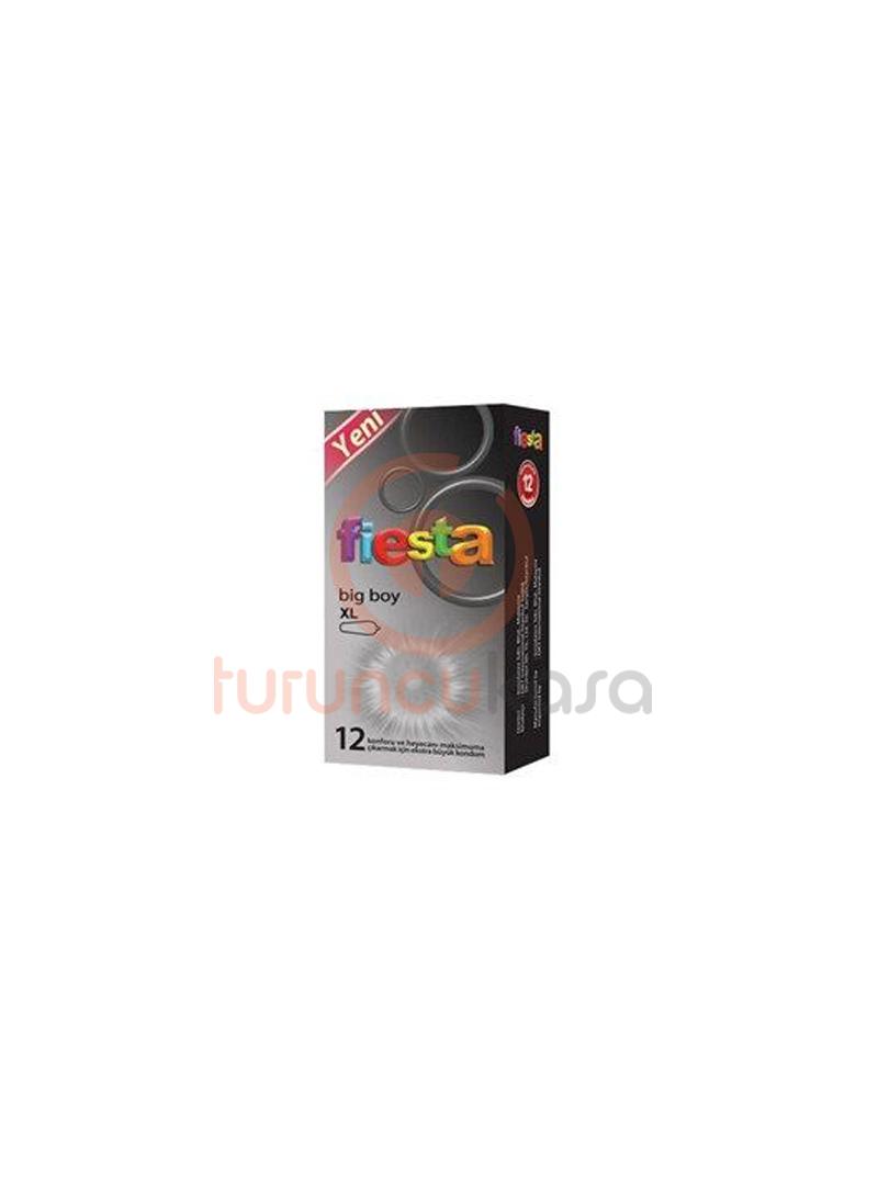 Fiesta Big Boy XL Prezervatif 12'li