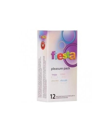 Fiesta Pleasure Pack Karma Paket Prezervatif 12'li