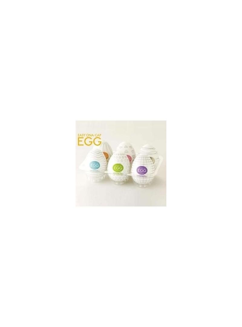 Tenga Egg 6´lı Paket