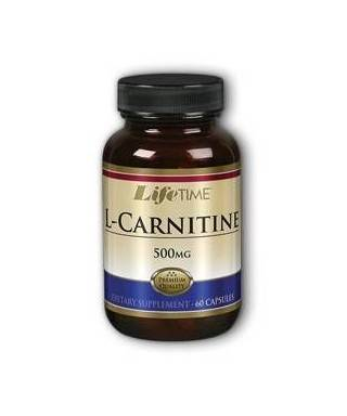 LifeTime L-Carnitine 500 Mg. 60 Kapsül