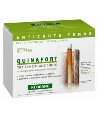 Klorane Quinafort Kinin İçeren Saç Dökülmesine Karşı Bakım Bayanlar İçin Ampul