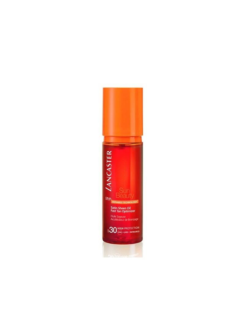 Lancaster Sun Satın Sheen Oil Fast Tan Spf 30