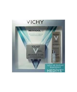 Vichy Neovadiol Gf Nuit Cream 50 ml + Neovadiol Gf Contours Yeux Et Levres 15 ml