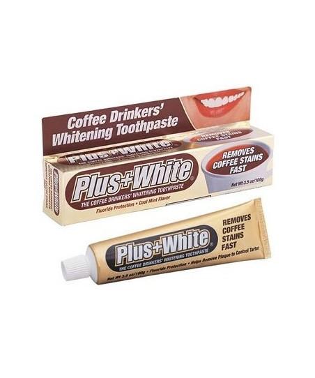 Plus White Kahve Tutkunları İçin Beyazlatıcı Diş Macunu 100 gr