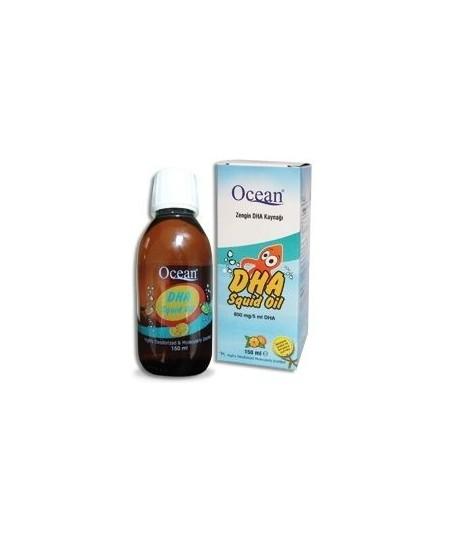Ocean DHA Squid Oil DHA Şurup 150ml