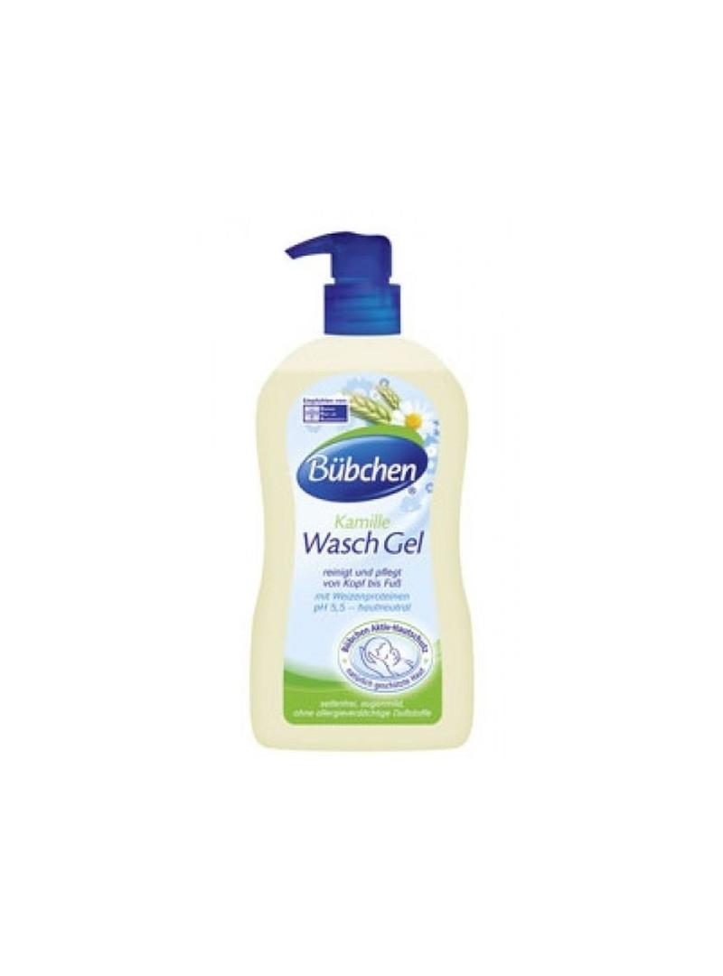 Bübchen Bebek Yıkama Jeli 400 ml (El Yüz Vücut Şampuanı)