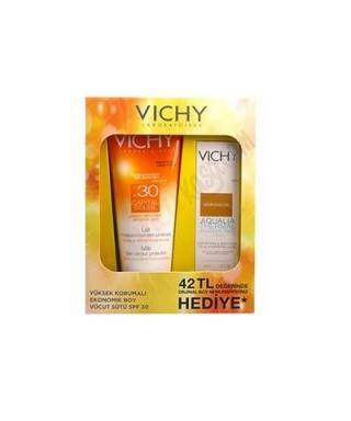 Vichy Capital Soleil Lait SPF 30 + Aqualia Thermal Nemlendirici Hediyeli