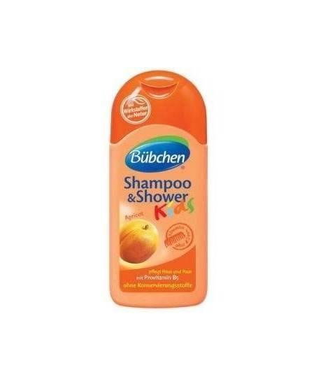 Bübchen Çoçuk Şampuan Ve Duş Jeli Kayısı 200 ml