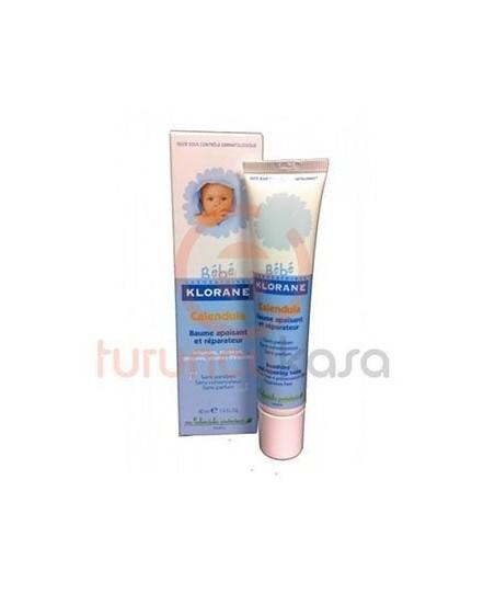 Klorane Bebe Bebek cildi için Yatıştırıcı Bakım Kremi 40 ml