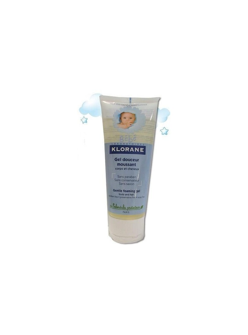 Klorane Bebe Saç ve Vücut Jel Şampuanı 200 ml
