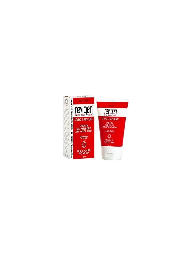 Revigen For Men Style&Restore Saç Kremi - Şekillendiricisi 150 ml