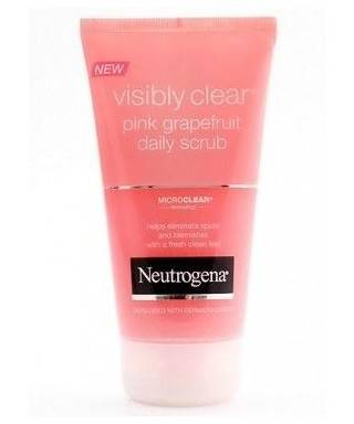 Neutrogena Visibly Clear Pink Grapefruit Daily Scrub 150 ml - Pembe Greyfurt Günlük Peeling Jel