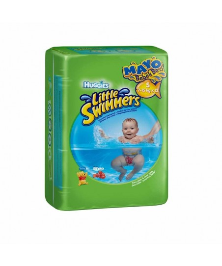 Huggies Little Swimmers S-M 7-15kg x 12