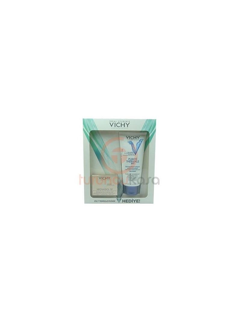 Vichy Neovadiol GF 50 ml + Vichy 3 in 1 Temizleyici 200 ml Hediye