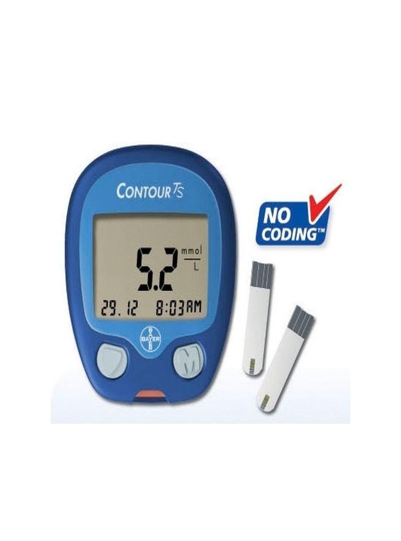 Bayer Contour TS Şeker Ölçüm Cihazı Seti (Yeni)