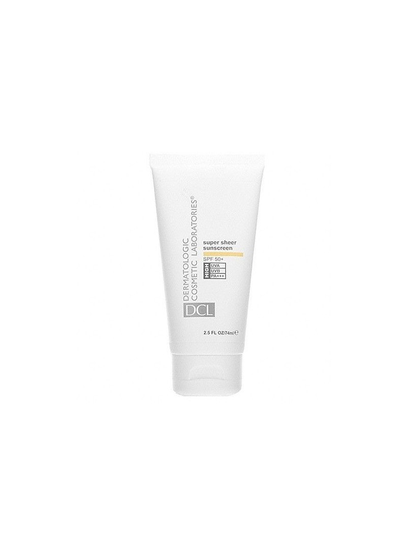 DCL Super Sheer Sunscreen Spf50