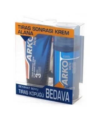 Arko Men Tıraş Sonrası Krem Max Comfort 75 ml + Tıraş Köpüğü Hediyeli