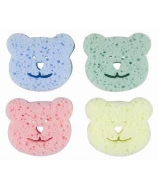 Bebedor Banyo Süngeri Renkli (4 lü Paket)