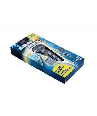 Gillette Mach 3 Tıraş Makinesi + 3 Yedek Bıçak