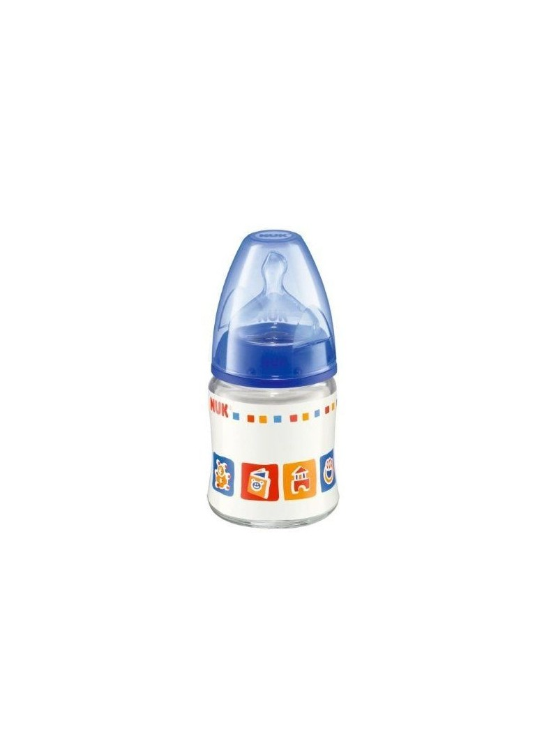 NUK FIRST CHOICE Silikon Emzikli Cam Biberon (120 ml)