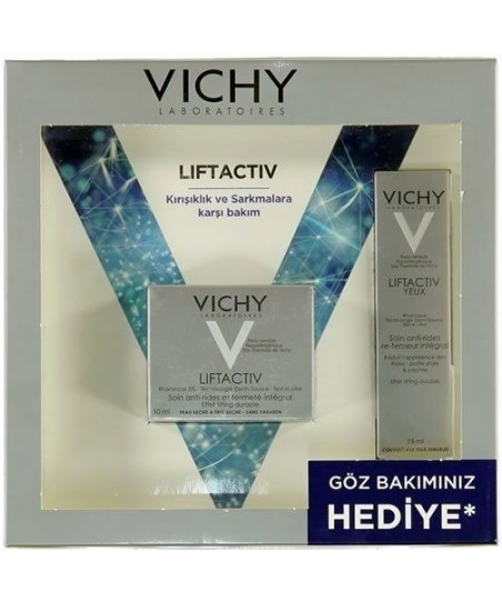 Vichy Liftactiv Derm Source Normal-Karma Cilt Krem (Liftactiv Derm Source Eyes HEDİYE)