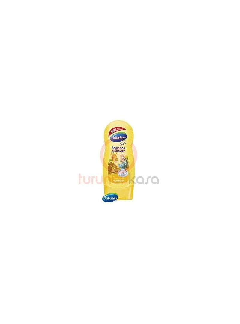 Bübchen Çocuk Şampuan Ve Duş Jeli Safari 230 ml