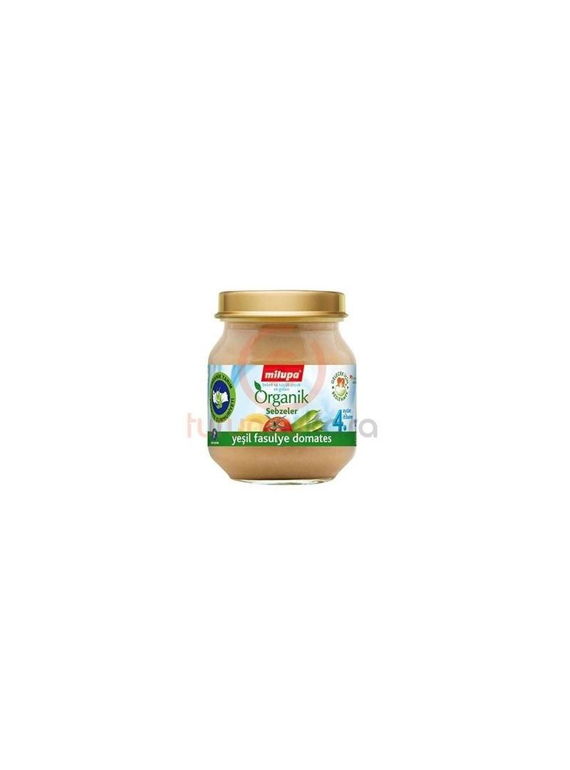 Milupa Yeşil Fasulye Domates Kavanoz Maması 125gr