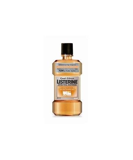 Listerine Cool Citrus Ağız Gargarası 250 ml - Portakal Aromalı