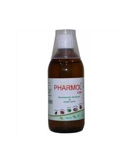Pharmol CHX Gargara 200 ml ( Klorheksidin Glukonat + Dogal içerikli)