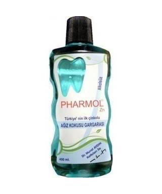 Pharmol ZN Ağız Kokusu Giderici Gargara Çinko Klorit 400 ml Alkolsüz