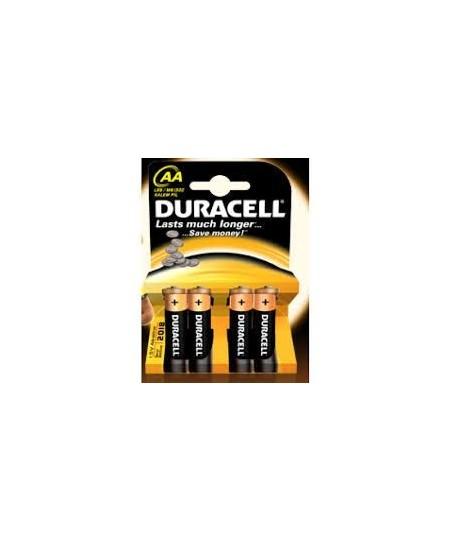 Duracell LR6 MN1500 4lü Kalem Pil