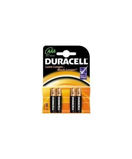 Duracell AAA LR6 MN1500 4lü  Kalem Pil