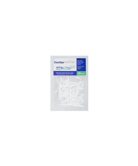 Dentek Silk Flosser (Nane Aromalı İpek Diş İpi)