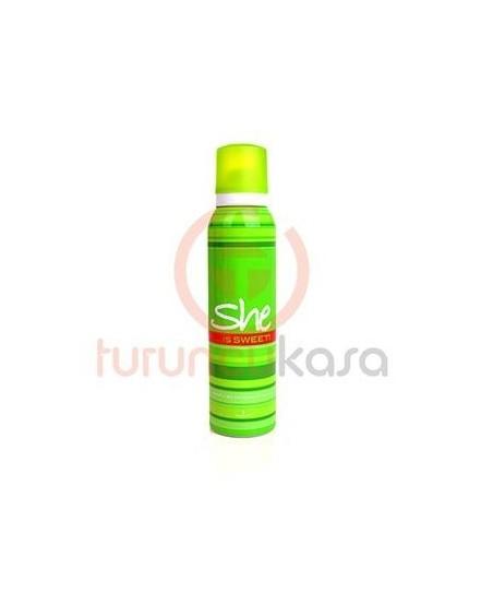 She İs Sweet For Women Deodorant Sprey 150 ml.