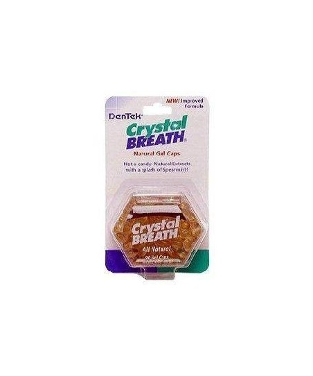 Dentek Crystal Breath 90 Gel Caps (Ağız Kokusu Giderici Kapsül