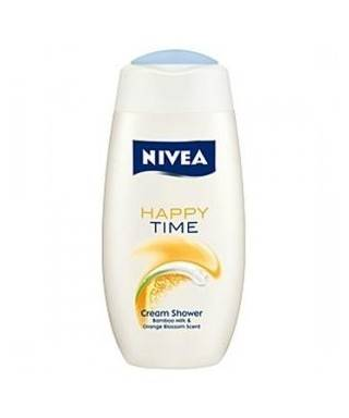 Nivea Happy Time Bambu ve Portakal Özlü Duş Jeli 250 ml