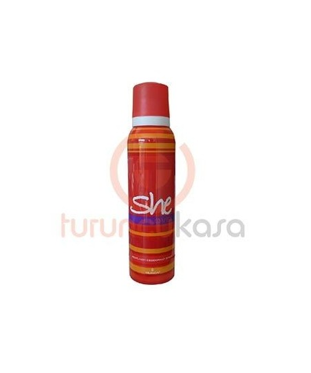 She İs Love For Women Deodorant Sprey 150 ml.