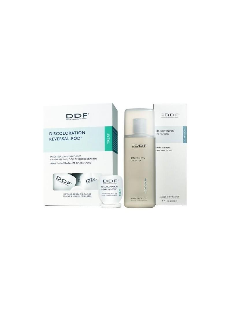 DDF Discoloration Reversal Pod + DDF Brightening Cleanser ( Hediye )