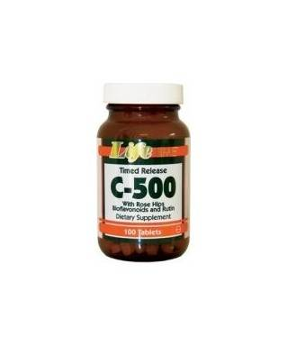 LifeTime C 500 Time Released With Rose Hips 100 tablet Life Time