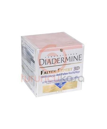 Diadermine Falten Expert 3D Kırışık Önleyici Gece Kremi 50ml