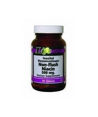 LifeTime Non-Flush Niacin 50 Tablet