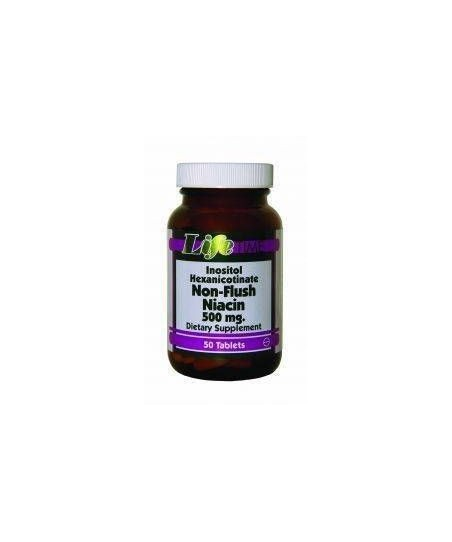 LifeTime Non-Flush Niacin 50 Tablet