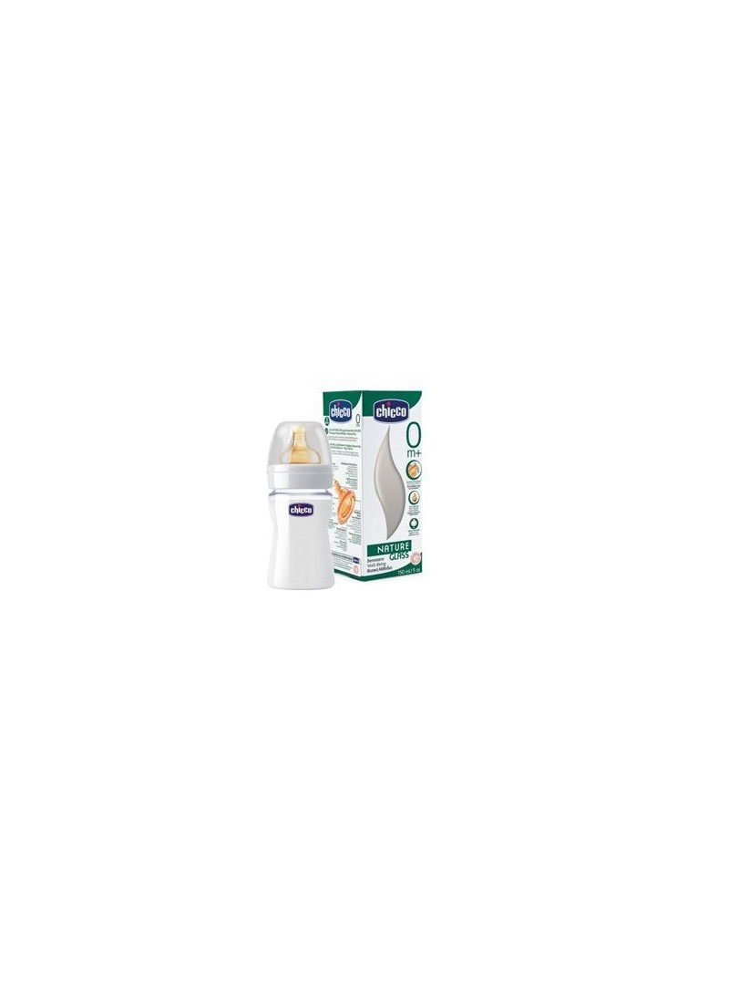 Chicco Naturel Glass Kauçuk Biberon 150ml