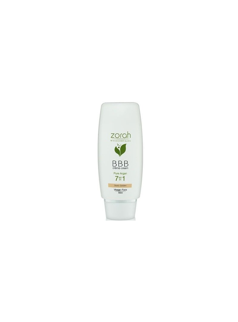 Zorah Pure Argan BBB Cream Beauty Balm 40ml - Golden BBB Krem