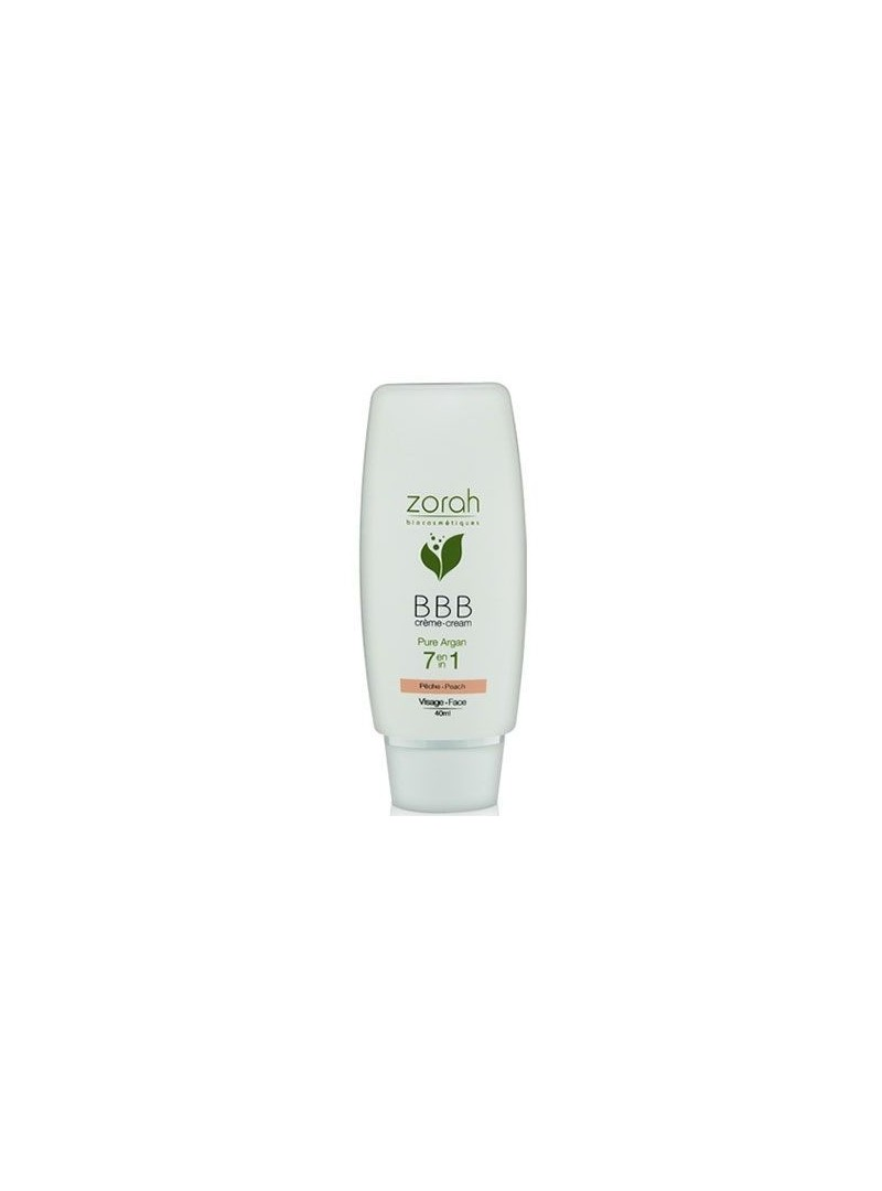 Zorah Pure Argan BBB Cream Beauty Balm 40ml - Peach BBB Krem
