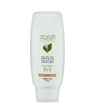 Zorah Pure Argan BBB Cream Beauty Balm 40ml - Caramel BBB Krem
