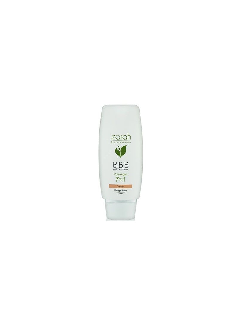 Zorah Pure Argan BBB Cream Beauty Balm 40ml - Caramel BBB Krem