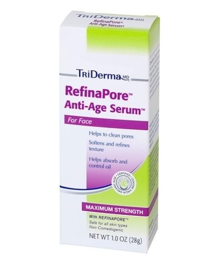 Triderma Refina Pore Anti Age Serum 28 gr