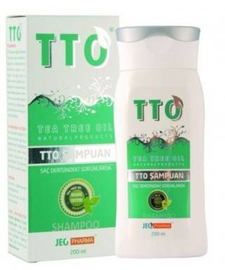 TTO Şampuan 200ml (Tea Tree Oil)