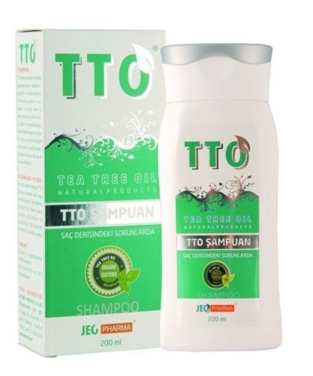 TTO Şampuan 200ml (Tea Tree Oil)